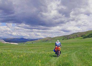 Voyage à vélo Mongolie : Les steppes mongoles à vélo