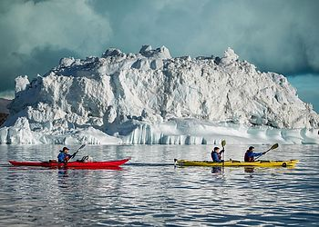 Voyage en kayak Groenland : Randonnée et kayak en baie de Disko