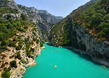 Trekking France : Sublime Verdon, le plus grand canyon d\'Europe