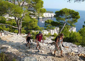Trekking France : Provence des  Calanques de Cassis aux massif de la Sainte Baume