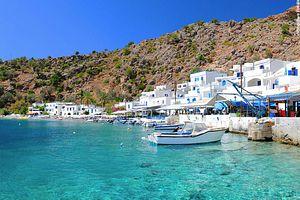Trekking Grèce : Crète, Randonnées et baignades
