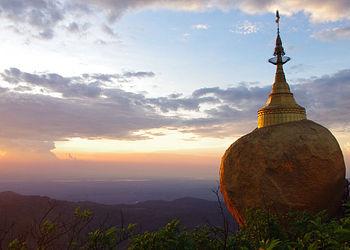 Trekking Birmanie : BIRMANIE, extension Rocher Doré