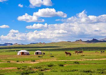 Trekking Mongolie : De l\'Arkhangai au désert de Gobi